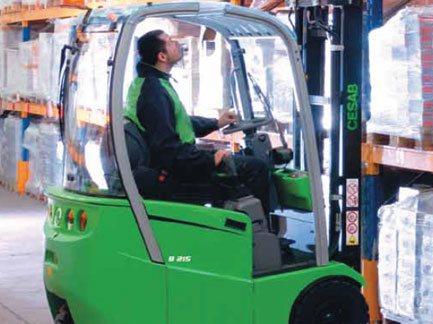 3 Wheel Electric Forklift Trucks norfolk